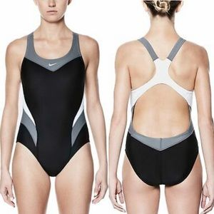 Nike Victory Color Block One Piece Swimsuit